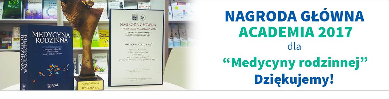 Nagroda Główna Academia 2017