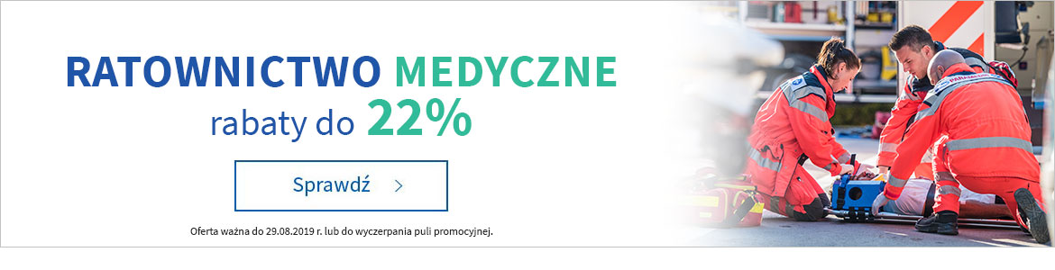 Ratownictwo do -22% »