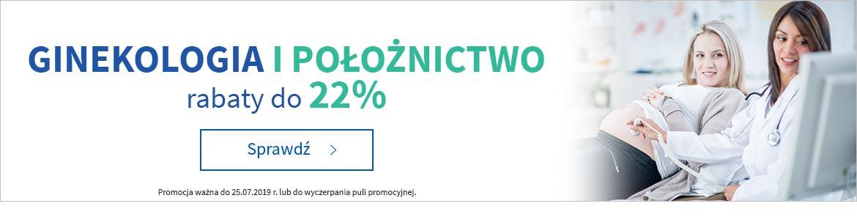 Położnictwo i ginekologia do -22% »