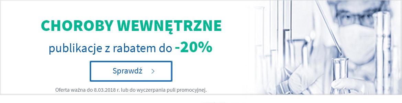 Choroby wewnętrzne - publikacje do -20%%