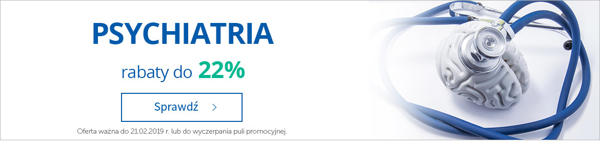 Psychiatria do -22%