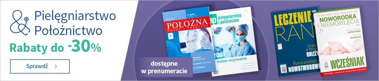 Czasopisma dla pielęgniarek i położnych