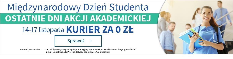 Ostatnie dni akcji akademickiej! Kurier za 0 zł! »